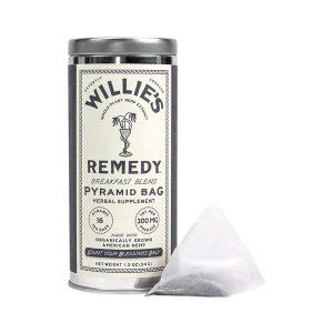Willies Remedy CBD Tea Bags - Breakfast Blend 200mg 16 Count