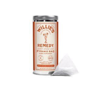 Willies Remedy CBD Tea Bags - Spiced Chai 200mg 16 Count