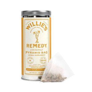Willies Remedy CBD Tea Bags - Chamomile 200mg 16 Count