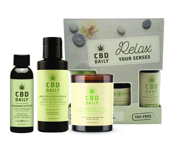 CBD Daily Relax Your Senses Gift Set