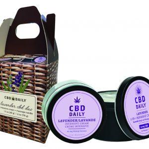 CBD Daily Lavender Duo Gift Set
