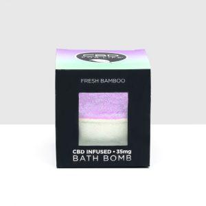 CBD For Life CBD Bath Bomb - Fresh Bamboo