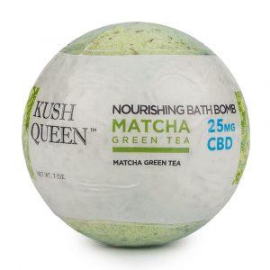 Kush Queen Matcha CBD Bath Bomb