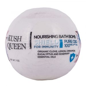 Kush Queen Shield For Immunity CBD Bath Bomb