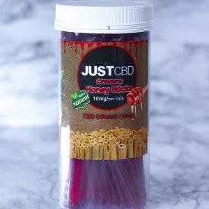 Just CBD Honey Sticks - 10mg Cinnamon 100 Count
