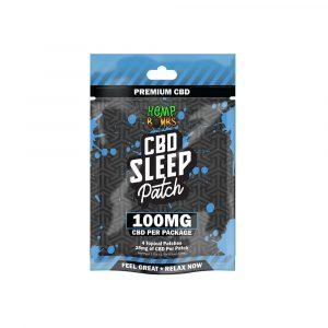 Hemp Bombs 25mg CBD Sleep Patch 4 Count