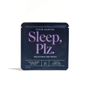 Fleur Marché CBD Transdermal Patch - Sleep Plz 20mg