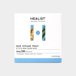 Healist CBD Calm Infused Patch 10mg 4 Count