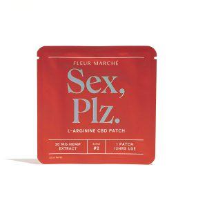 Fleur Marché CBD Transdermal Patch - Sex Plz 20mg