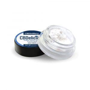 CBDistillery 99% Pure CBD CBDelicious Formulation Isolate Powder 1 Gram
