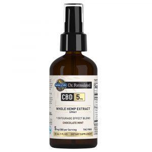 Dr. Formulated CBD Spray 5mg Chocolate Mint 900mg 30ml