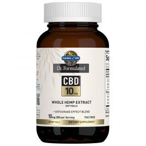 Dr. Formulated CBD Softgels 10mg 60