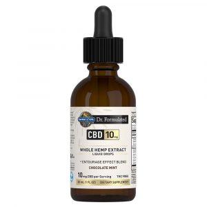 Dr. Formulated CBD Liquid Drops - Chocolate Mint 300mg
