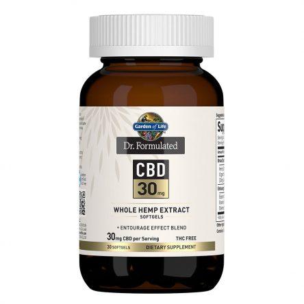 Dr. Formulated CBD Softgels 30mg 30 Count