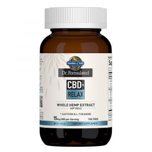 Dr. Formulated CBD+ Relax Softgels 15mg 30 Count
