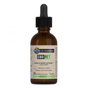 Dr. Formulated CBD Pet Liquid Drops - Peanut Butter