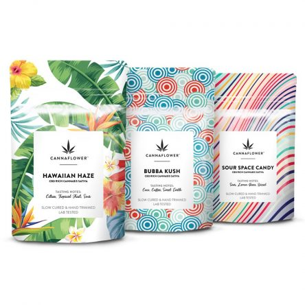Cannaflower Anytime CBD Flower Collection