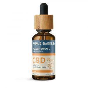Papa & Barkley CBD Hemp Infused Drops - Natural 30ml