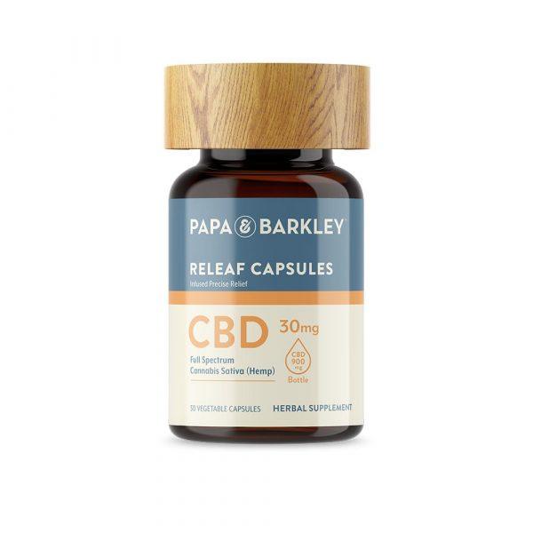 Papa & Barkley CBD Hemp Infused Capsules 30 count 900mg
