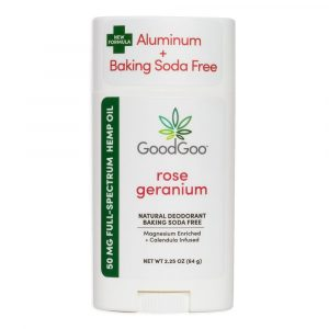 Good Goo CBD Deodorant - Rose Geranium Scent