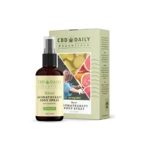 CBD Daily Essentials Aromatherapy Body Spray - Grapefruit, Ginger & Sandalwood 100mg