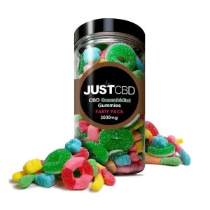 Just CBD Party Pack 3000mg Assorted Gummies