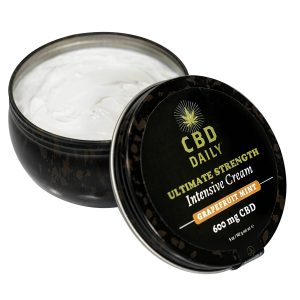 CBD Daily CBD Ultimate Strength Intensive Cream - Grapefruit Mint 600mg 5oz 5oz