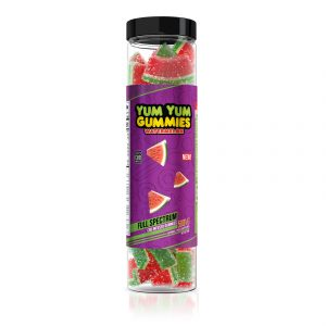 Yum Yum Gummies - CBD Full Spectrum Watermelon Slices - 500mg