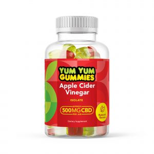 Yum Yum Gummies 500mg - CBD Isolate Apple Cider Vinegar