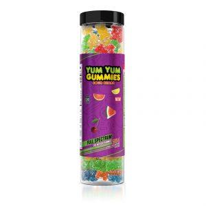 Yum Yum Gummies - CBD Full Spectrum Sour Bears