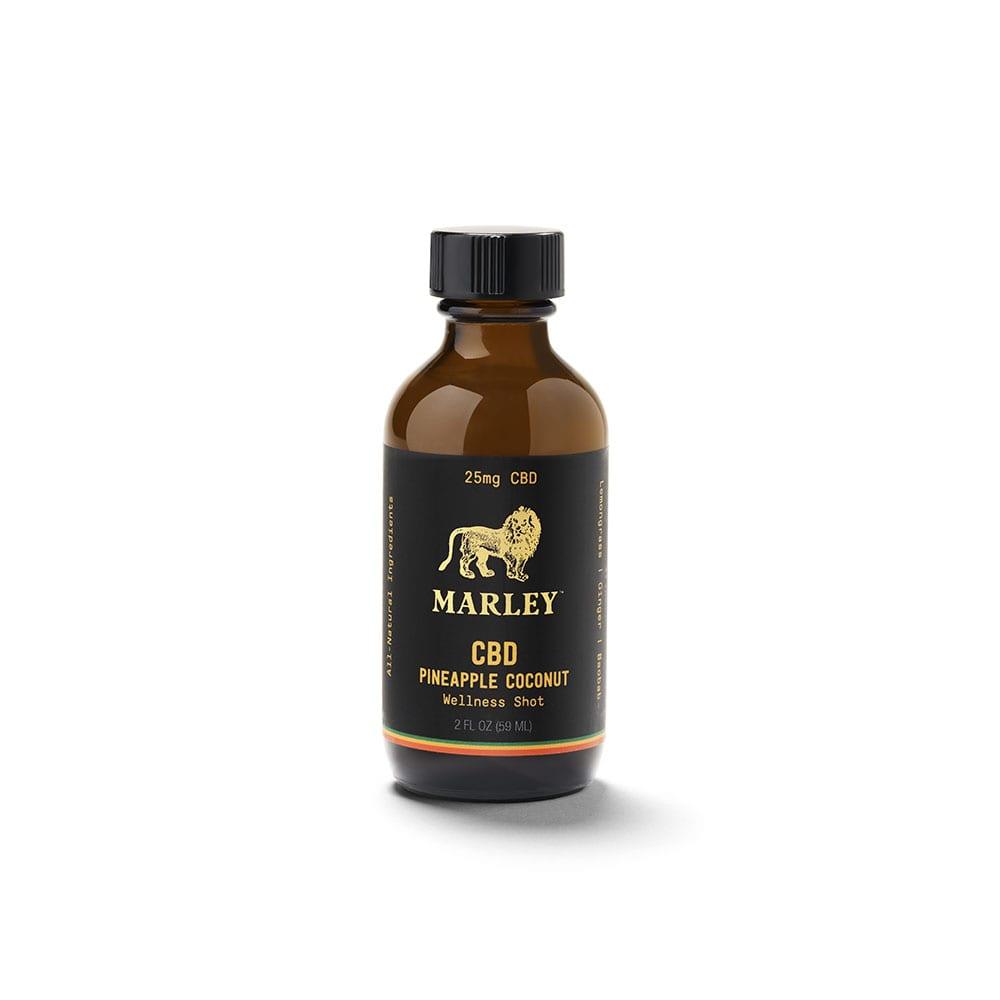 Marley CBD Wellness Shot 2oz - Coconut Pineapple 25mg
