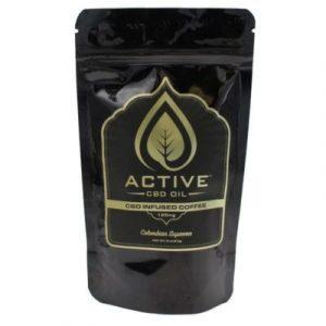 Active CBD Oil - CBD Infused Coffee (Choose Size)