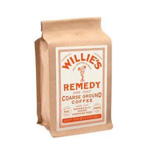 Willies Remedy CBD Coffee Dark Roast Blend - Ground 250mg 8oz