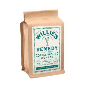 Willies Remedy CBD Coffee Light Roast Blend - Ground 250mg 8oz