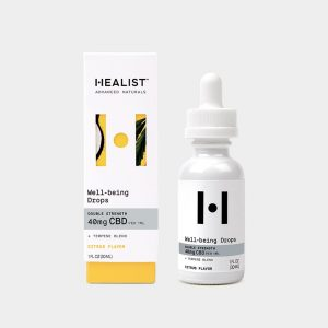 Healist CBD Tincture Oil Well-Being Drops - Citrus 1200mg