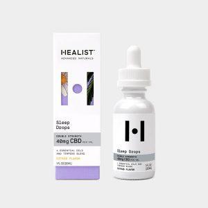 Healist CBD Tincture Oil Sleep Drops - Citrus 1200mg