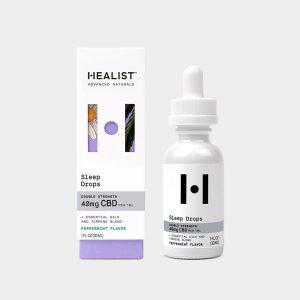 Healist CBD Tincture Oil Sleep Drops - Peppermint 1200mg