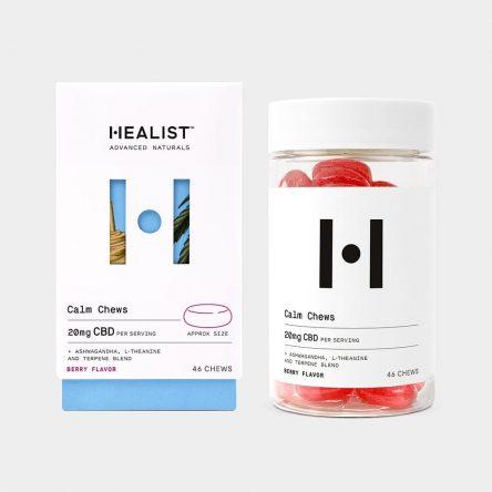 Healist CBD Calm Chews – Berry 10mg 46 Count